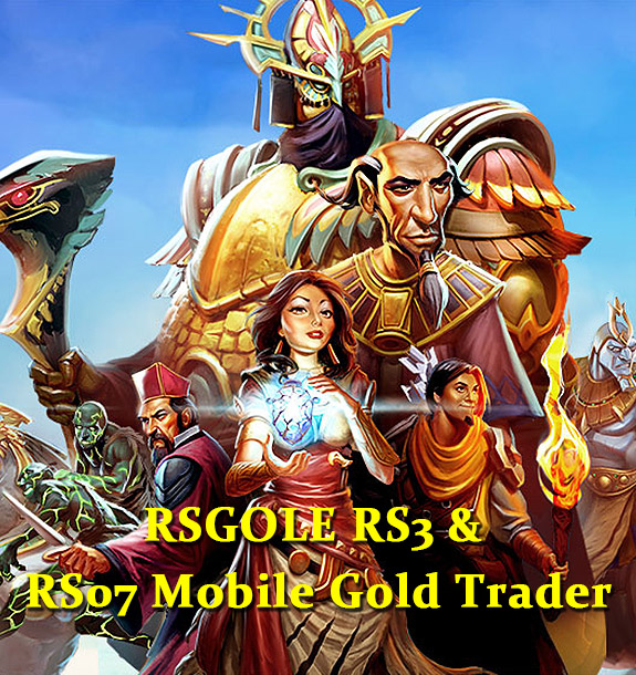 RSGOLE RS3 & RS07 Mobile Gold Trader